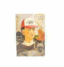 Sean Tejaratchi Frida Kahlo Postcard, by Sean Tejaratchi