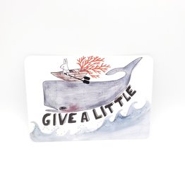 Trish Grantham Give a Little Postcard - Trish Grantham