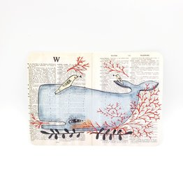 Trish Grantham Whale Friend Postcard - Trish Grantham