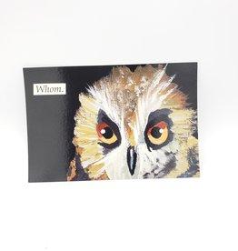 Mincing Mockingbird Whom Postcard - The Mincing Mockingbird