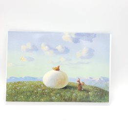 Huge Egg Happy Easter Greeting Card - Inkognito