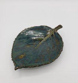 Handmade Ceramic Leaf Dish