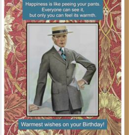 """Warmest Wishes"" Birthday Greeting Card - Umlaut Brooklyn"