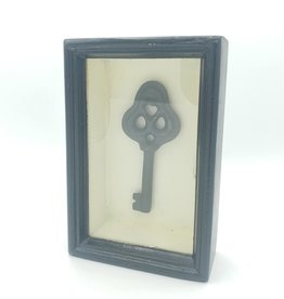 Framed Antique Skeleton Key Shadowbox