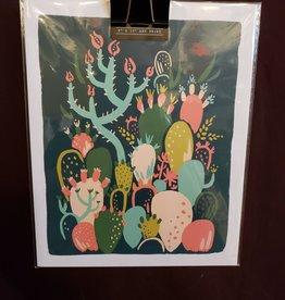 Cactus Print 8 x10 - Idlewild