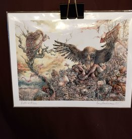 Vulture King - Giclee Print 8.5x11 by Ian Anderson
