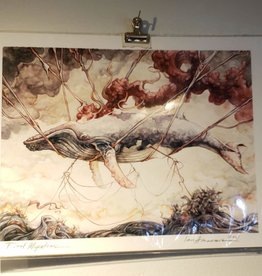 Final Migration (Humpback Whale) - Giclee Print 8.5x11 by Ian Anderson