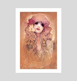 """Laura"" Art Print by Megan Lara - 11 x 17"