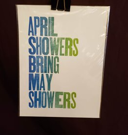 April Showers Print - Power Light and Press