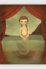 Fiji Mermaid Print - The Black Apple Emily Winfield Martin 8 x 10