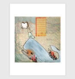 Whale and Friends Print - Trish Grantham Papermilk 8.5 x 11