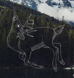 """Jenna Barton """"Eulogy For a Deer"""" Print , Jenna Barton 12X12"""
