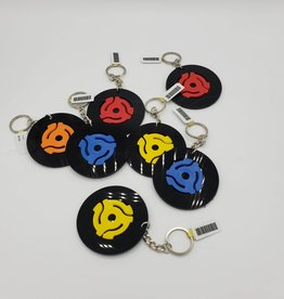 Keychain Vintage Recycled Record - Vinylux