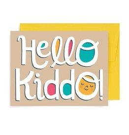 "Allison Cole ""Hello Kiddo"" Baby Greeting Card - Allison Cole"