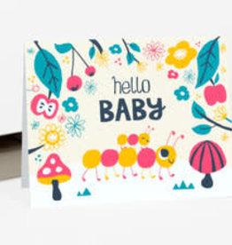 "Allison Cole ""Hello Baby"" Greeting Card - Allison Cole"