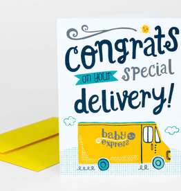 """Allison Cole """"Special Delivery"""" Greeting Card - Allison Cole"""