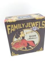 Blue Q Family Jewels Mini Cigar Box