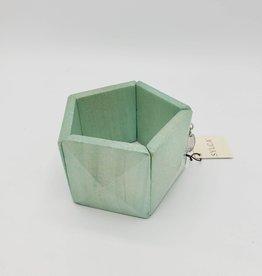 Sylca Designs Bracelet Maia Mint Wooden