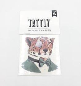 Tattly Cheetah by Ryan Berkley - Tattly Temporary Tattoos (Pairs)