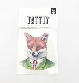 Tattly Fox by Ryan Berkley  - Tattly Temporary Tattoos (Pairs)