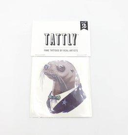 Tattly Sea Lion Ryan Berkley  - Tattly Temporary Tattoos (Pairs)