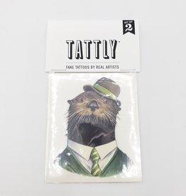 Tattly Otter by Ryan Berkley  - Tattly Temporary Tattoos (Pairs)