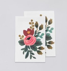 """Tattly Florals """"Rosa"""" by Rifle Paper Co. - Tattly Temporary Tattoos (Pairs)"""