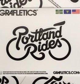 Portland Rides Sticker Decal by Grafletics