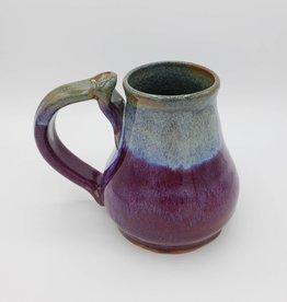 Handmade Ceramic Mug, pear shape