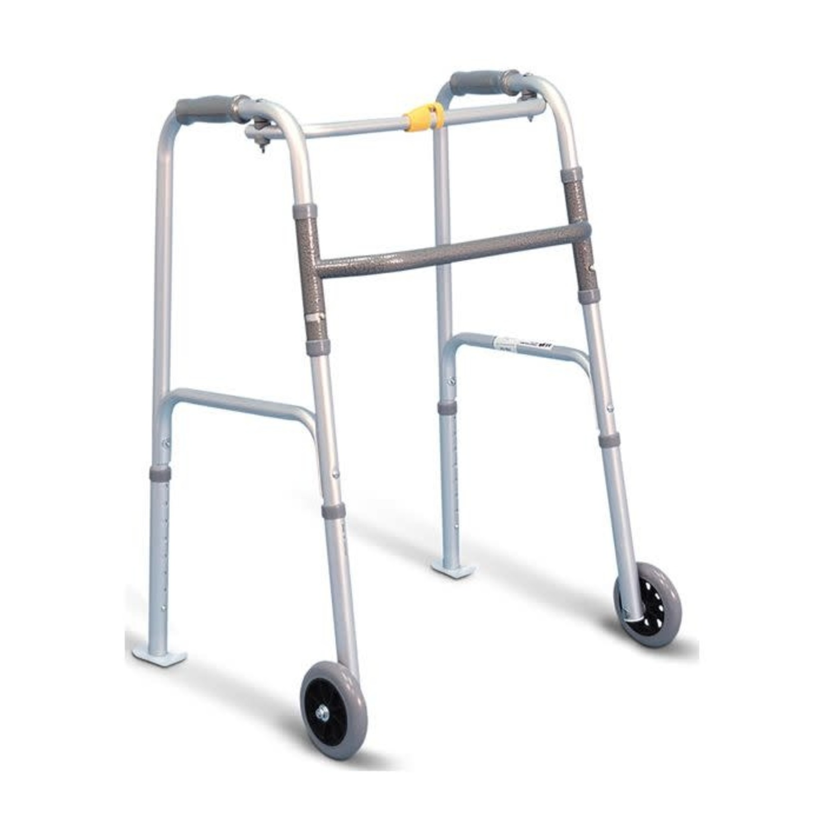 Pro-Aide Walker with wheels & skis - 1 button