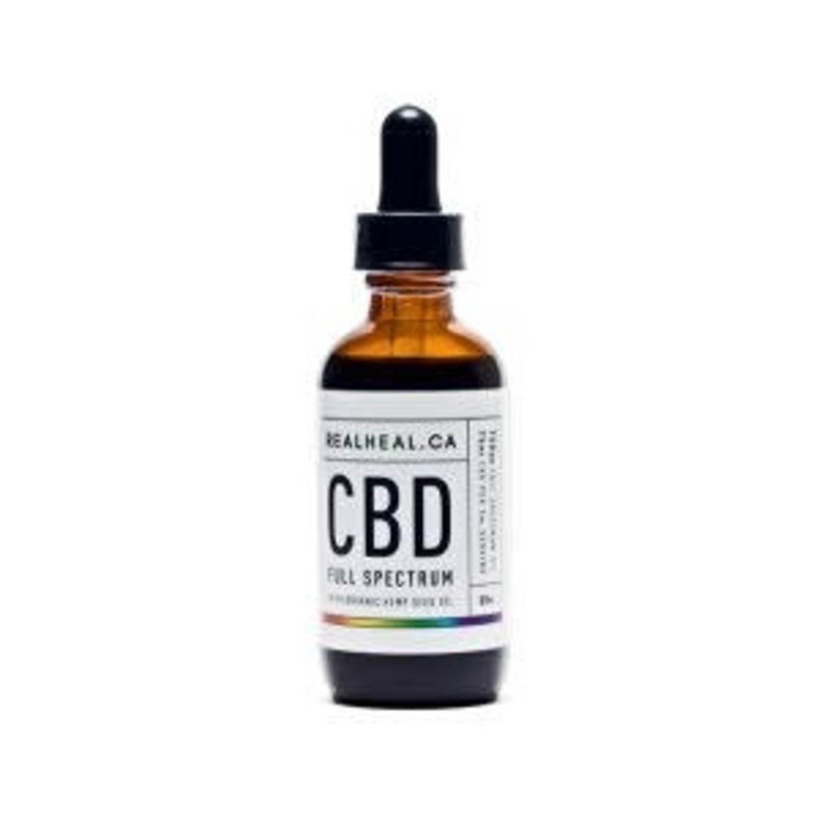 RealHeal CBD Tincture, Full Spectrum - 50ml bottle
