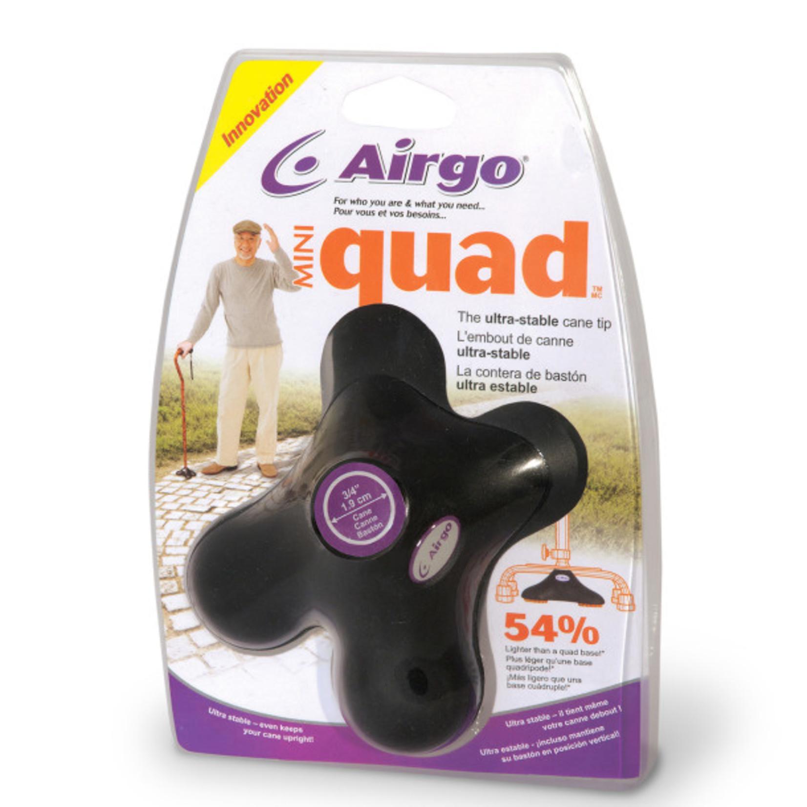 Airgo Cane Tip - Mini-Quad Pod