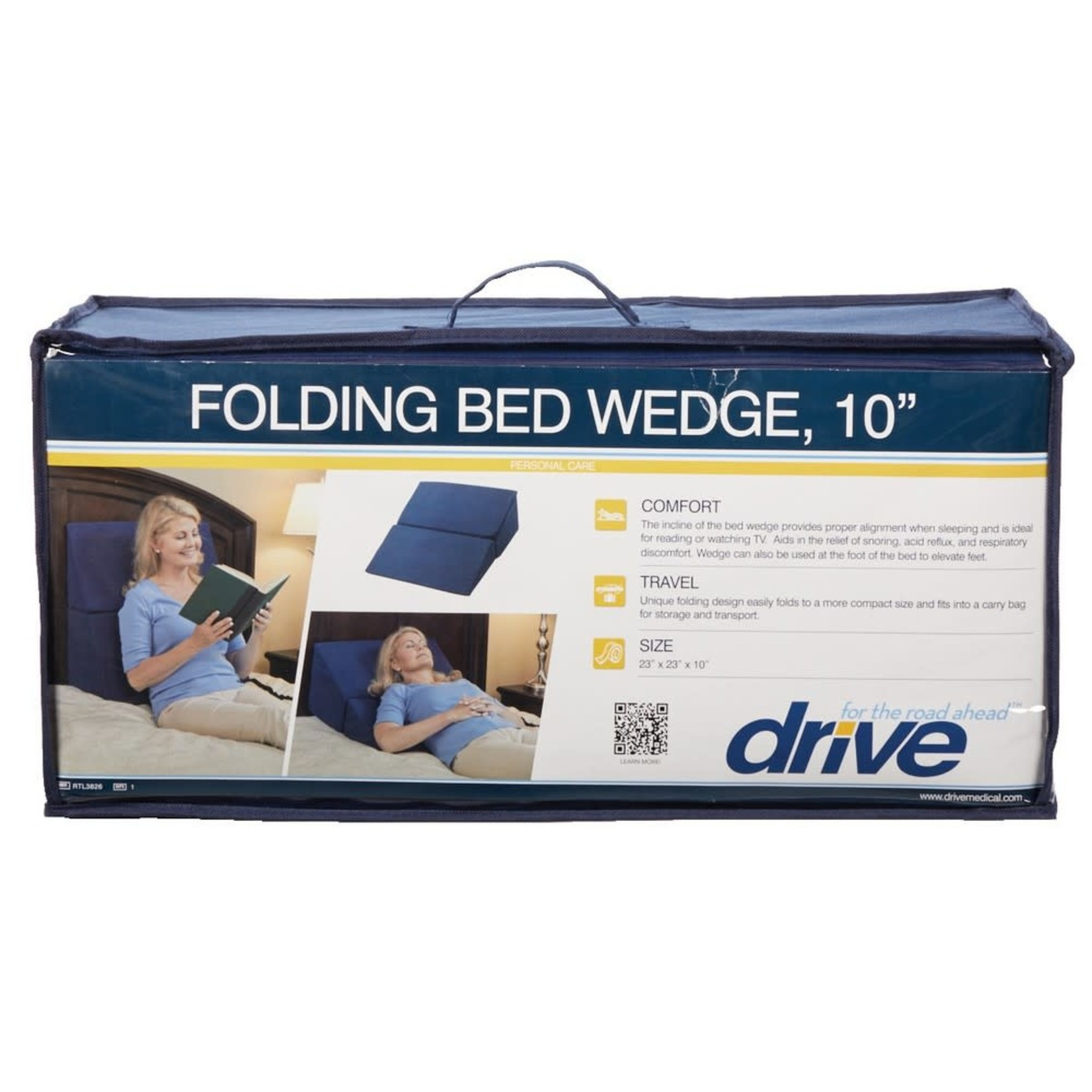 Drive Bed Wedge - Folding