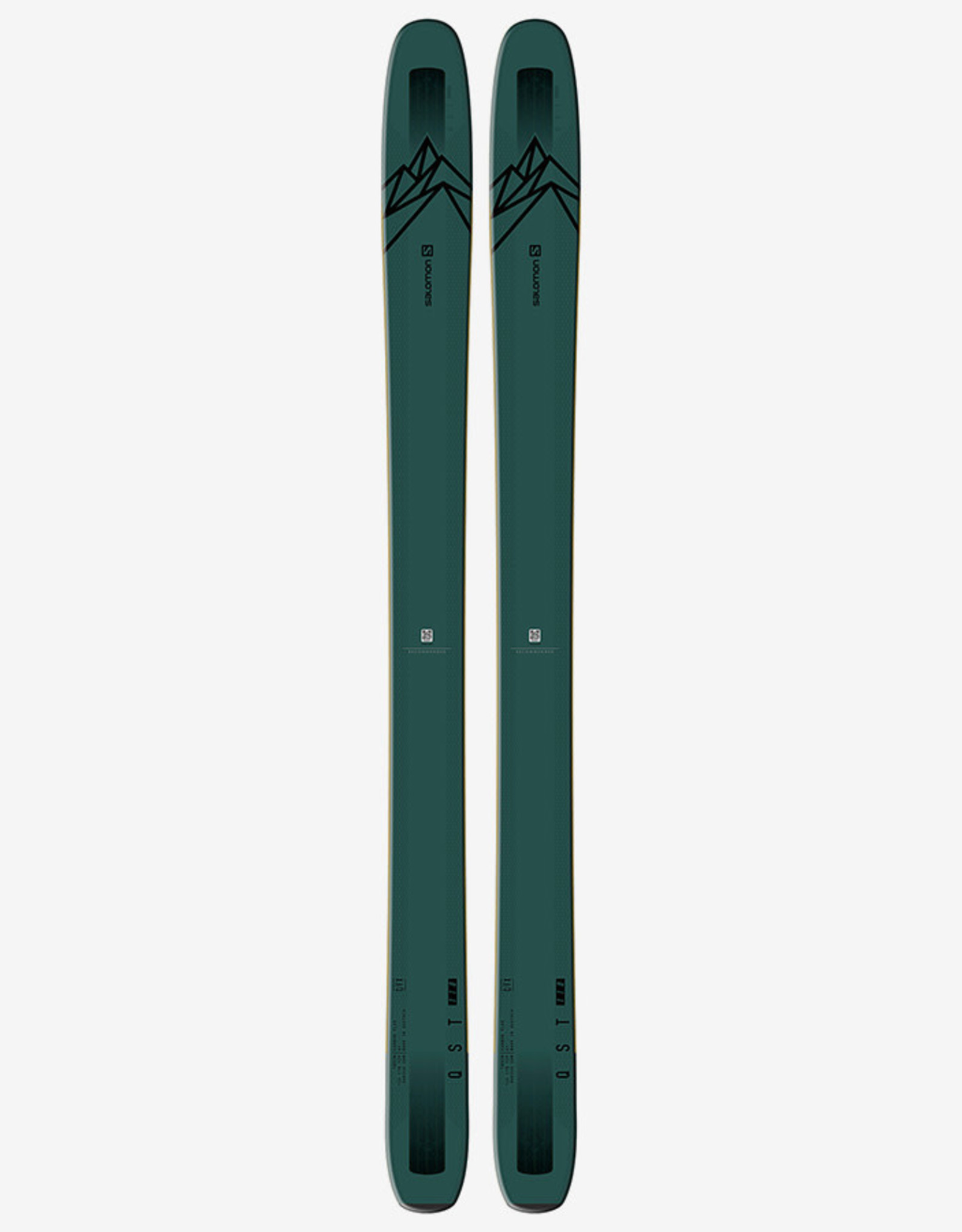 Salomon SALOMON Skis QST 118 (19/20)