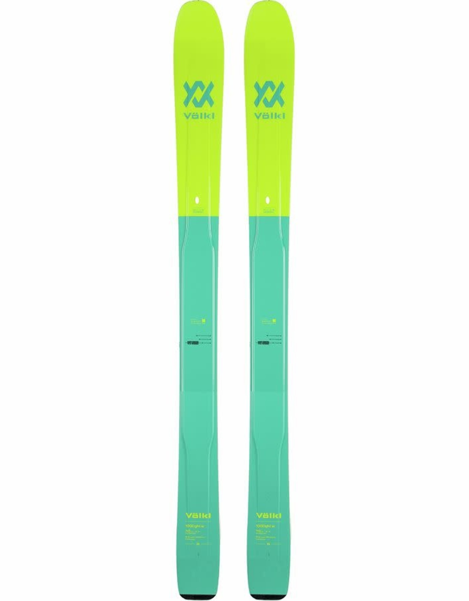 VOLKL VOLKL Skis 100 EIGHT W (19/20)