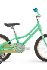 "RALEIGH RALEIGH Kid Bike - JAZZI 16 - Green Sprinkles - 16"" Wheel"