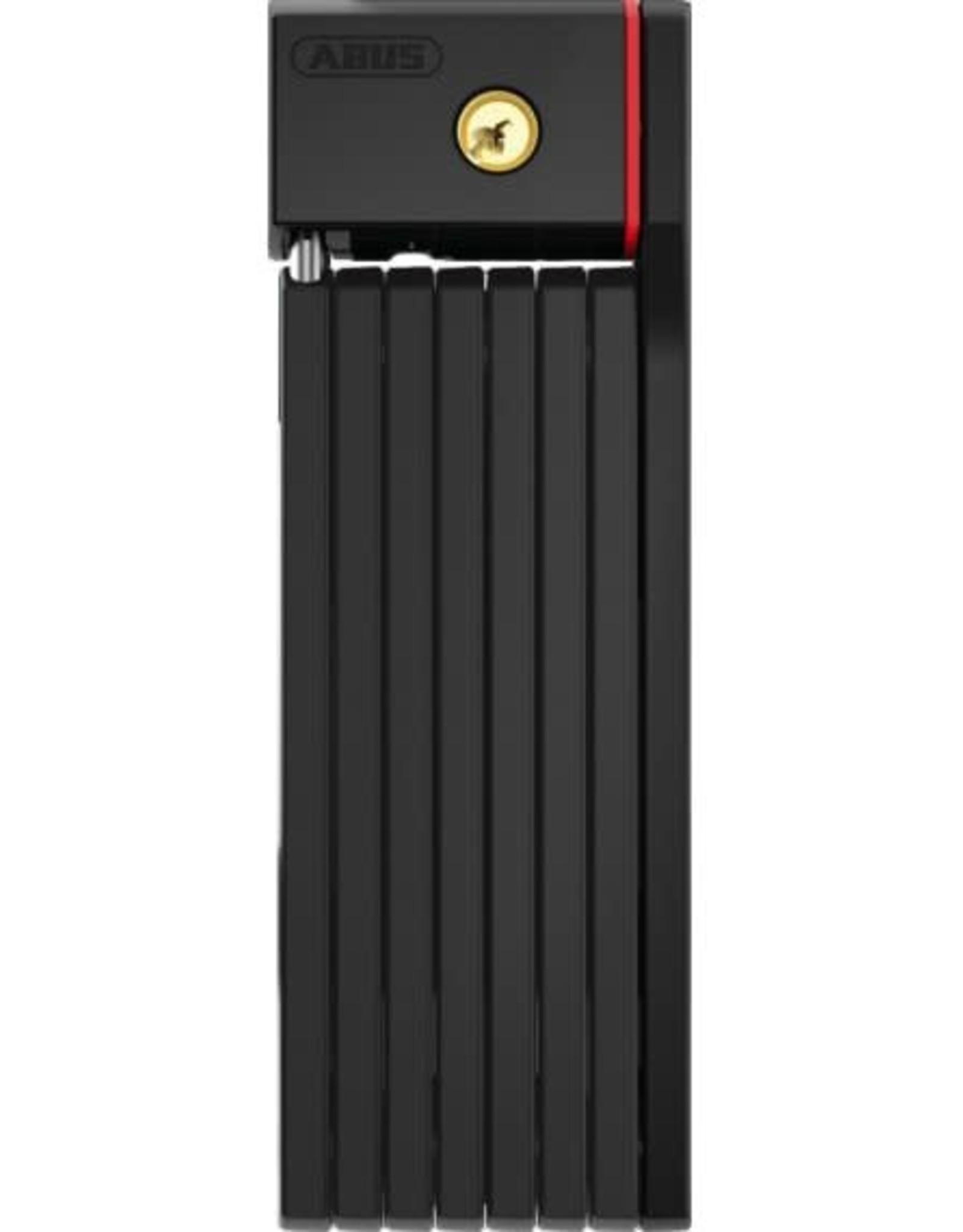 ABUS ABUS Folding Lock - uGrip BORDO 5700 BIG  KEYED w/ Bracket - 3.2 Feet - Black