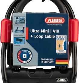 ABUS ABUS Lock - Ultra Mini 410 + Loop Cable