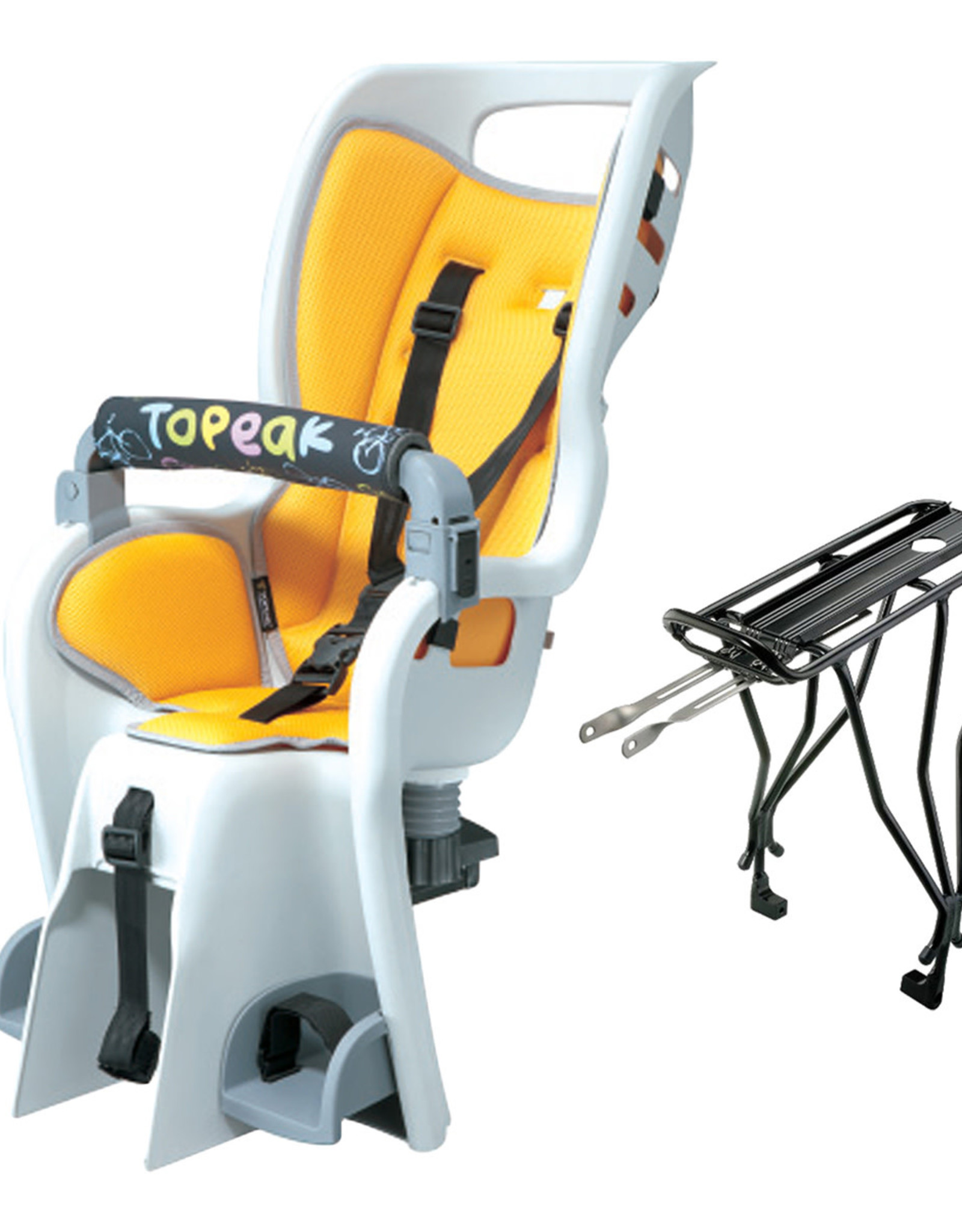 Topeak TOPEAK BABYSEAT II + Rack (Disc Brake Compatible)