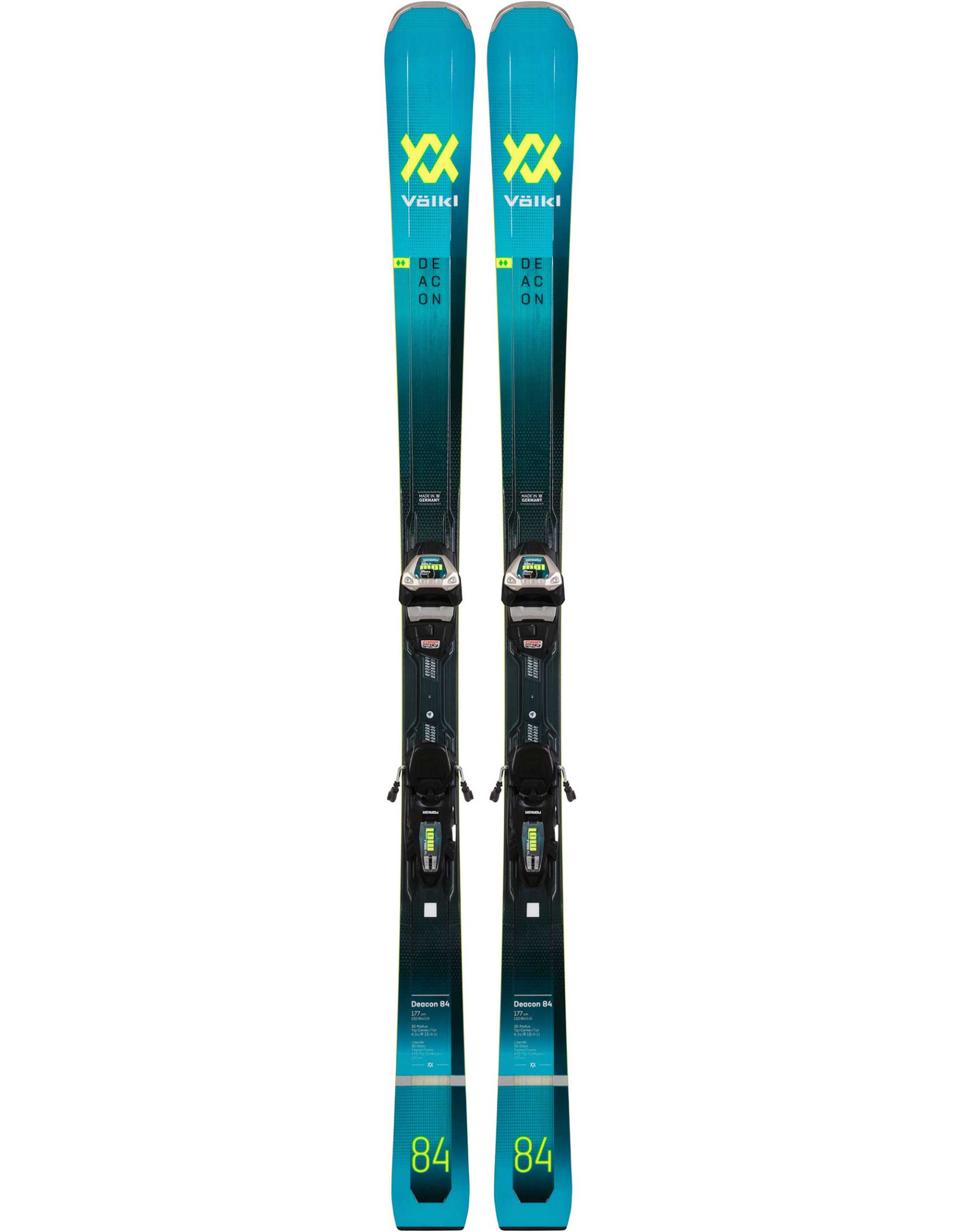 VOLKL VOLKL Skis DEACON 84 + Lowride XL 13 FR Demo GW Binding (20/21)