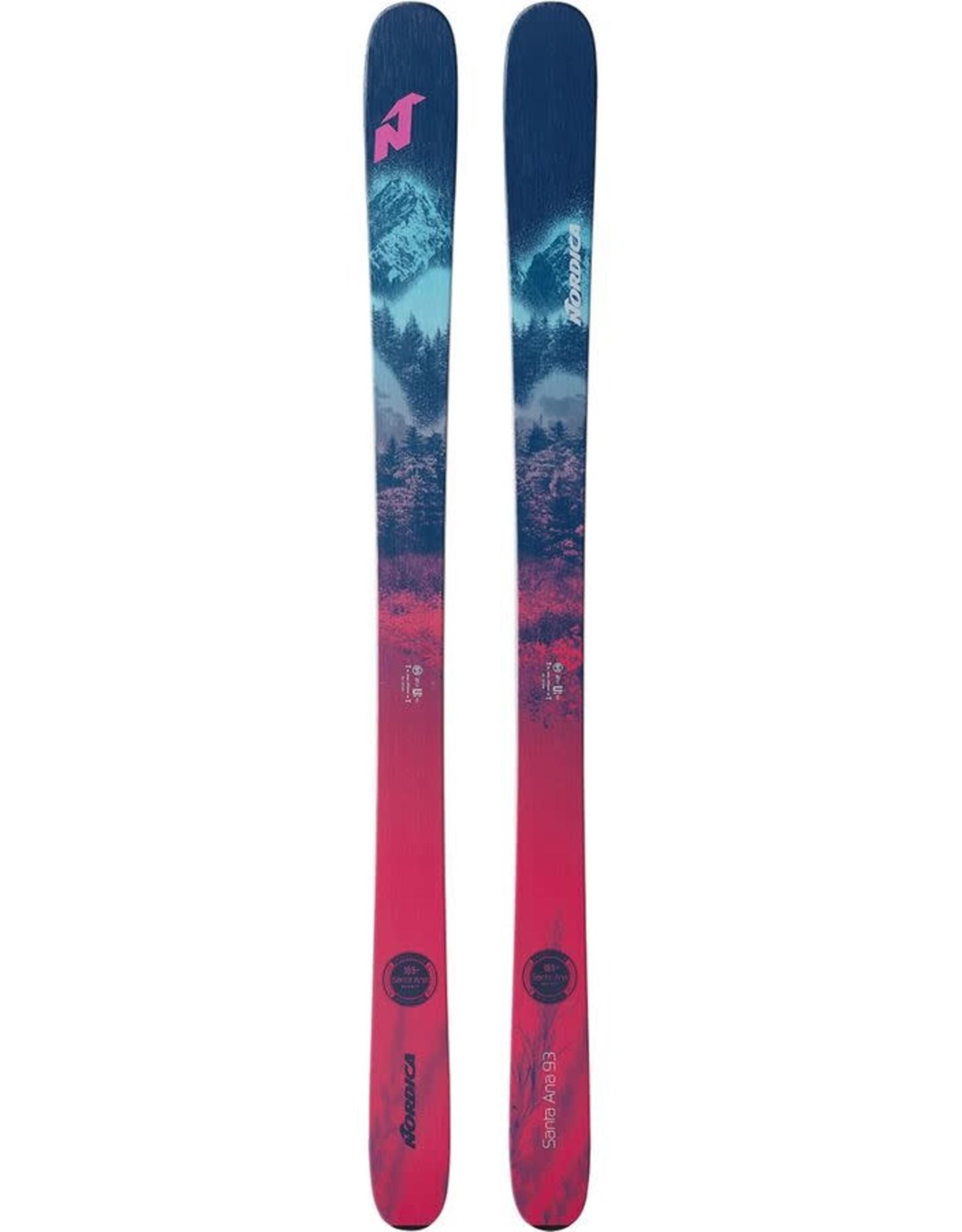 NORDICA NORDICA Skis SANTA ANA 93 (20/21)