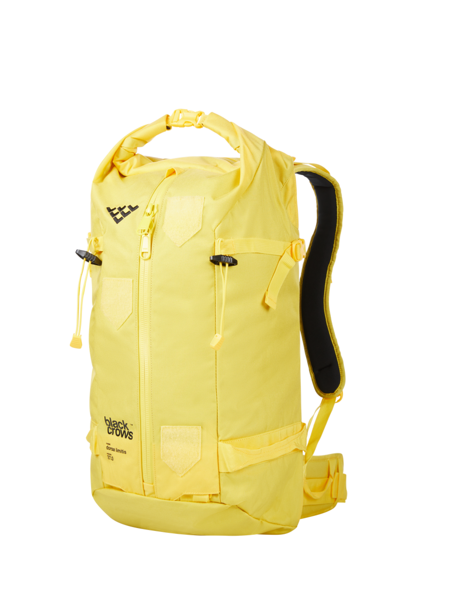 BLACK CROWS BLACK CROWS Backpack DORSA 27 with Patches  - Yellow