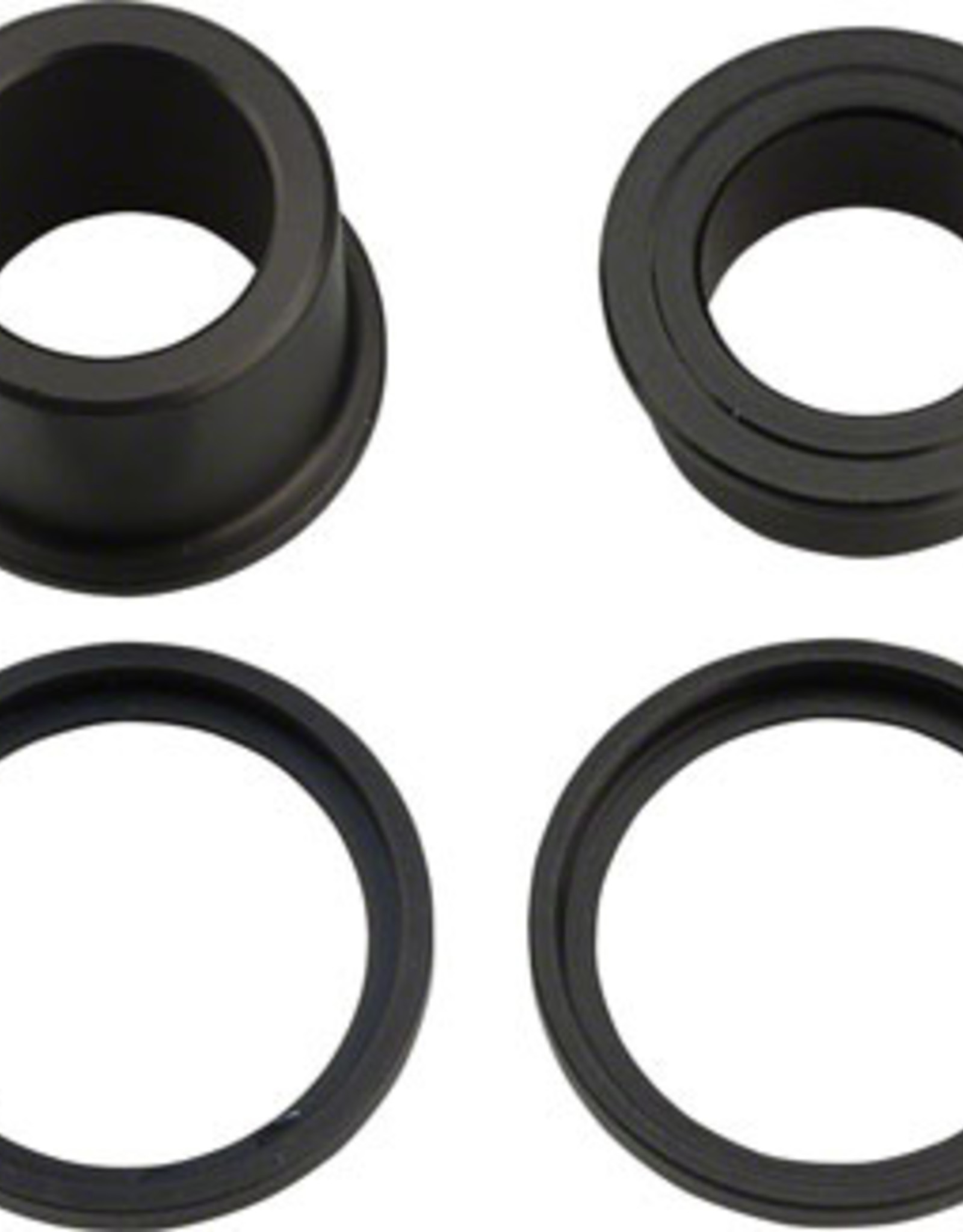 dt swiss DT Swiss 350/370 15x100mm End Cap Kit: Includes Right and Left End Caps and 2 Retainer Rings