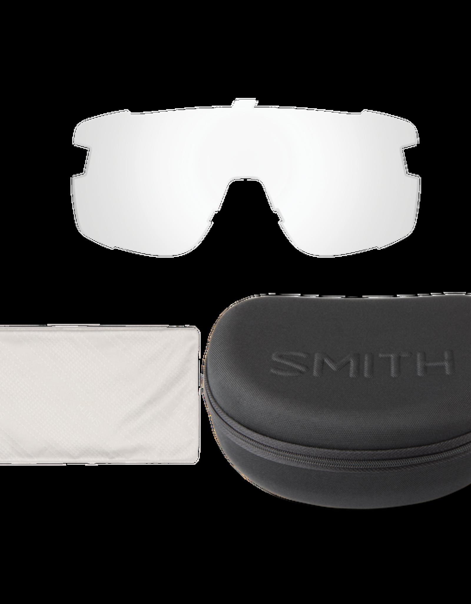 SMITH OPTICS SMITH Sunglasses WILDCAT Black Cinder ChromaPop Black/Clear