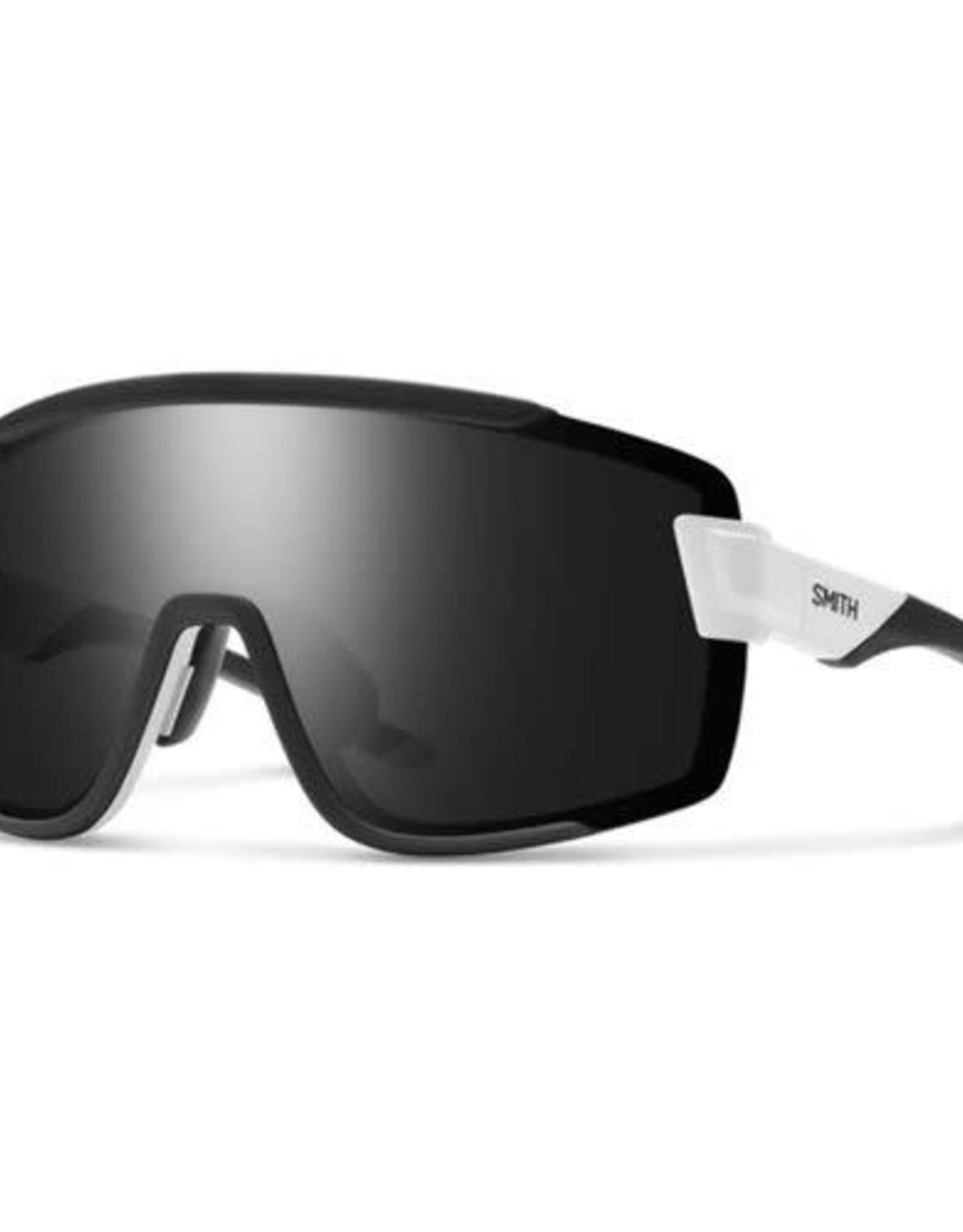 SMITH OPTICS SMITH Sunglasses WILDCAT Matte White ChromaPop Black/Clear