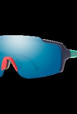 SMITH OPTICS SMITH Sunglasses FLYWHEEL Matte Deep Ink ChromaPop Blue Mirror