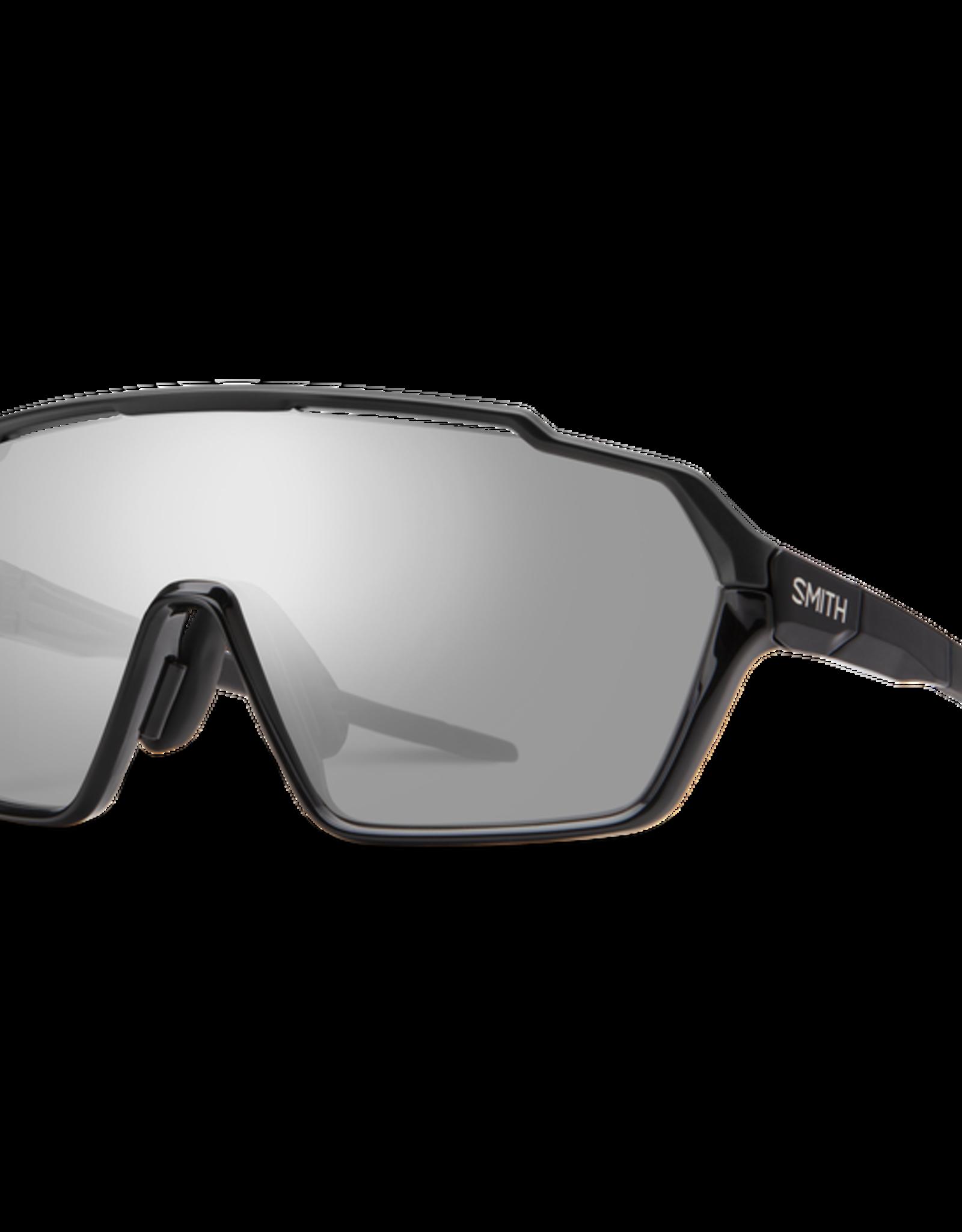SMITH OPTICS SMITH Sunglasses SHIFT MAG Black ChromaPop Platinum/Clear