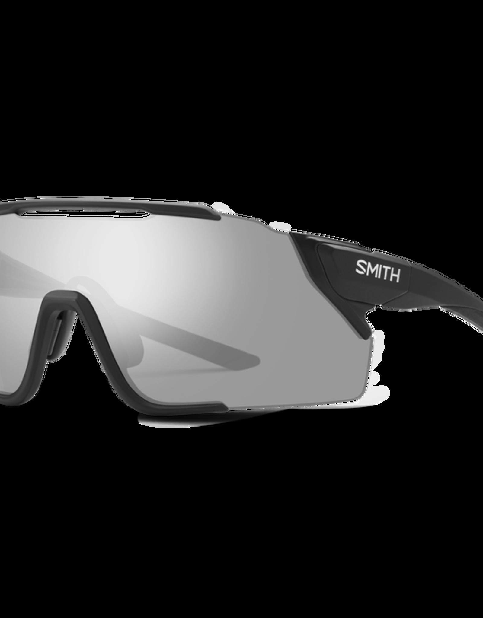 SMITH OPTICS SMITH Sunglasses ATTACK MAG MTB  Matte Black ChromaPop Platinum/ChromaPop Low Light Amber