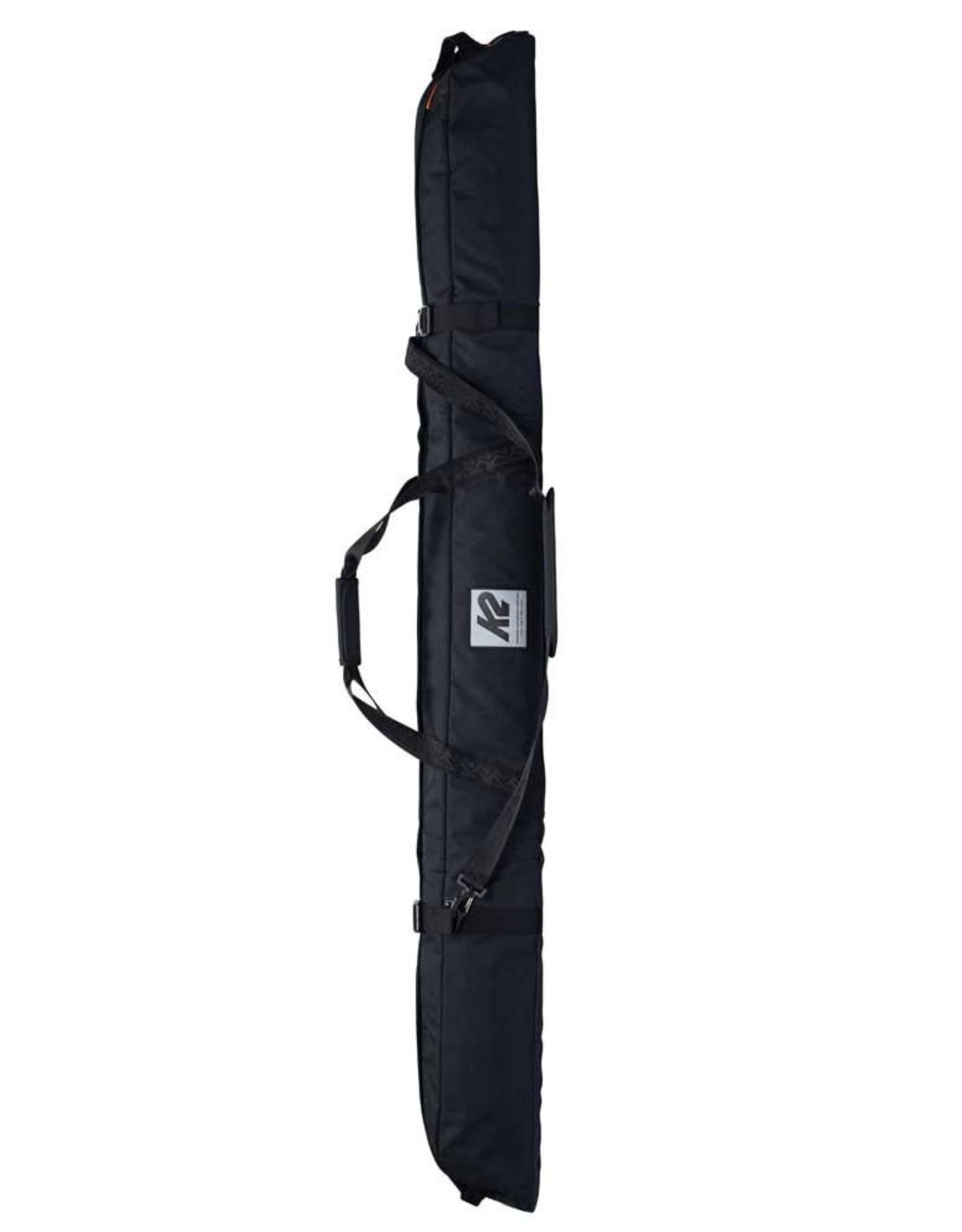 K2 K2 SINGLE PADDED SKI BAG Black 175cm