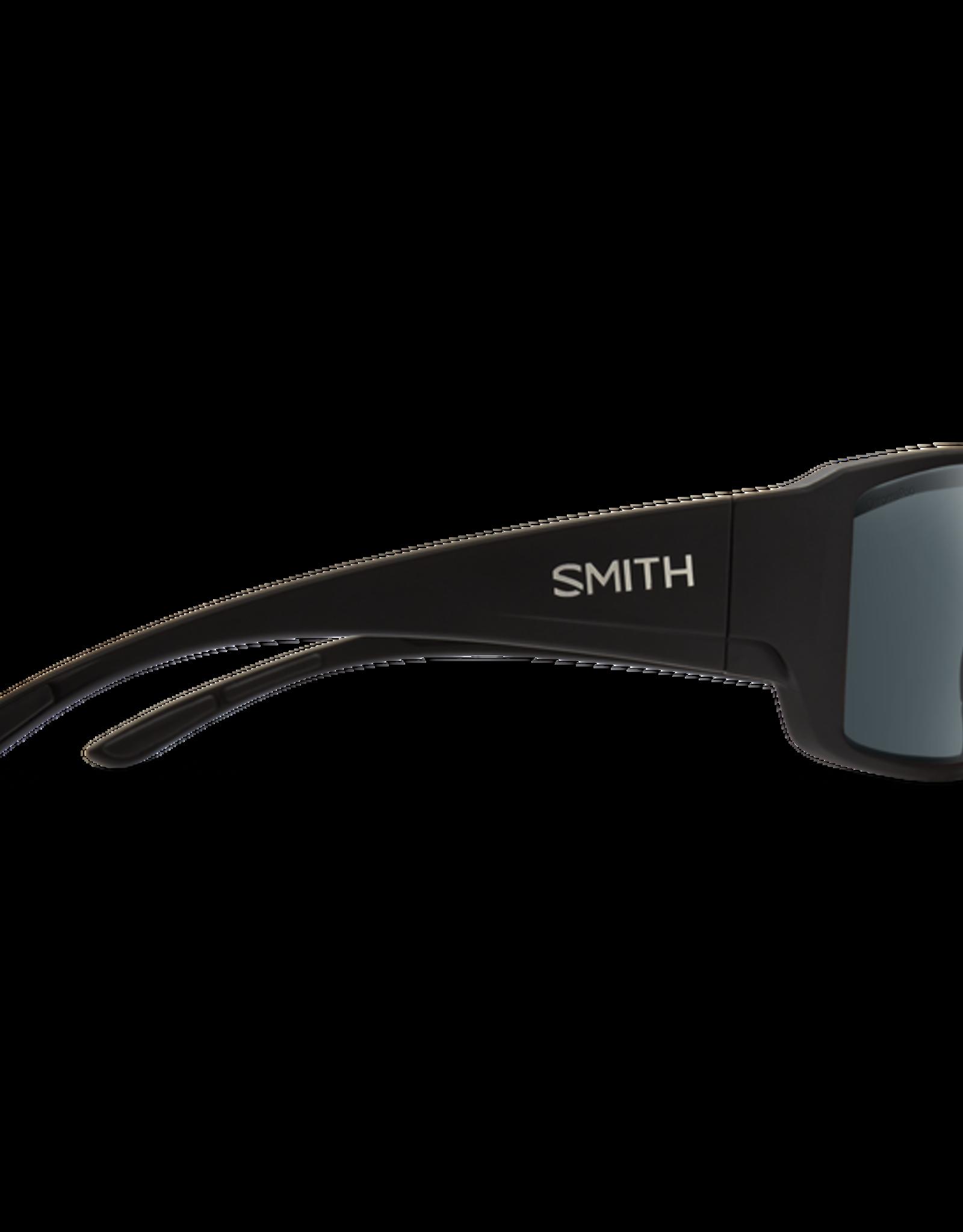 SMITH OPTICS SMITH Sunglasses GUIDES CHOICE Matte Black ChromaPop Glass Polarized Gray